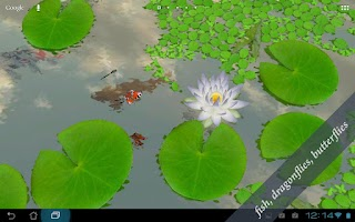 Screenshot of 3D Lotus Live Wallpaper
