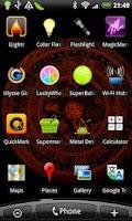 Screenshot of Mantra Wheel Live Wallpaper