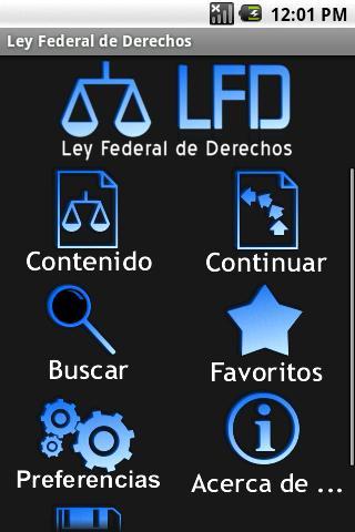 Ley Federal de Derechos