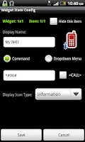 Screenshot of Dialpad Shortcut Widgets