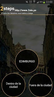 Audio guía Edimburgo - screenshot