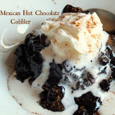 Mexican Hot Chocolate Cobbler