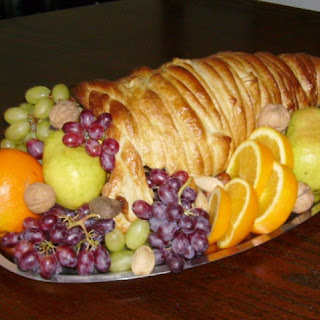 Holiday Cornucopia Bread Centerpiece