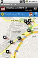 Screenshot of Gas Prices ESP Lite