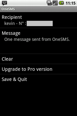 One SMS
