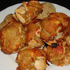 Indian Almond Koftas With Yogurt