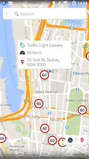 Speed Cameras AUS & NZ Alerts - screenshot