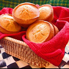 Coffee Shop Cornbread Muffins