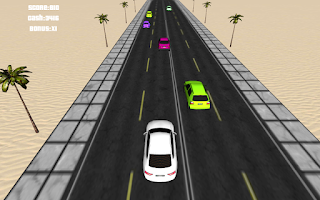 Screenshot of 3D Speed Racing 2