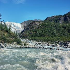 Glacier view by Melissa Sweet-Leavins - Landscapes Travel (  )