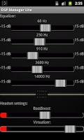 Screenshot of DSP Manager & Equalizer Pro