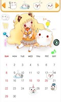 Screenshot of 2013 SeeU Calendar