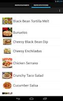 Screenshot of Mexican Recipes