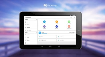 Screenshot of File Manager (Wifi Transfer)