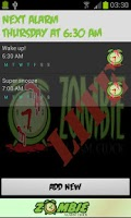 Screenshot of Zombie Alarm Clock LITE