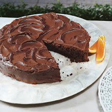 Chocolate Cake with Chocolate-Orange Frosting