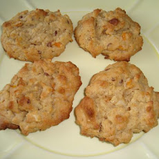 Apple Peanut Butter Breakfast Cookies