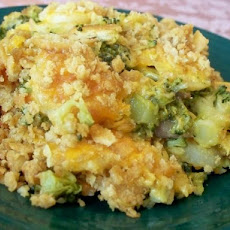 Broccoli Ritz Casserole