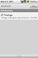 Screenshot of Tramigo M1 Move