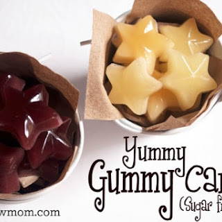 Homemade Gummy Candy (sugar-free)