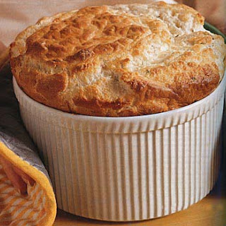 Gruyère and Parmesan Cheese Soufflé