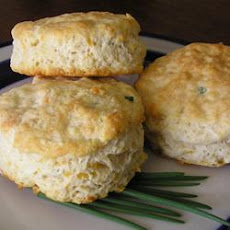 Chive Cheese Biscuits