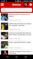 Screenshot of Mundo da Bola