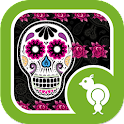 Skulls n Roses Theme Go Locker icon