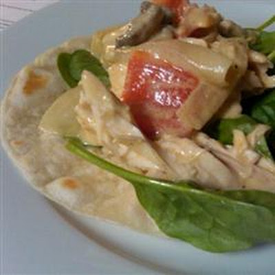 Take-Out Fake-Out Pollo Con Crema