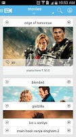 Screenshot of myplex Movies, Live TV online