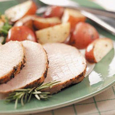 Herbed Pork and Potatoes Recipe