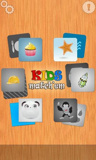 對於孩子們:KIDS match'em