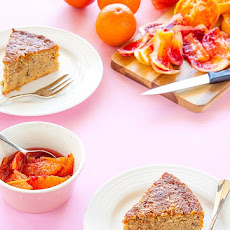 Gluten Free & Sugar Free Blood Orange Cake