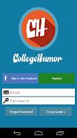 Screenshot of CollegeHumor Originals