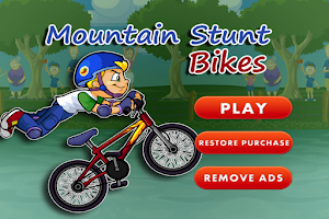 Screenshot of Mountain Stunt Bikes