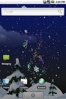 Screenshot of Winter Snow PRO Live Wallpaper