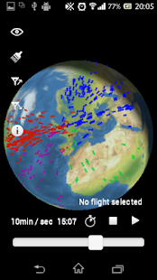 Flights Globe - screenshot