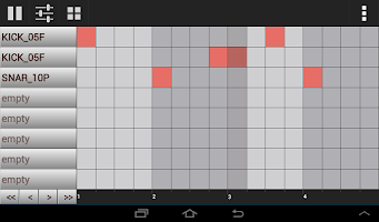 Screenshot of GrooveMixer - Music Beat Maker