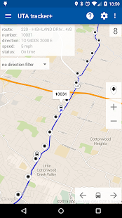 Transit Tracker+ - UTA - screenshot