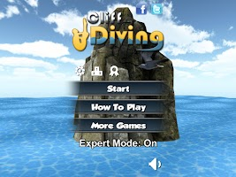Screenshot of Cliff Diving 3D Free