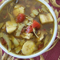 Tanzanian Curried Chicken-Banana Soup