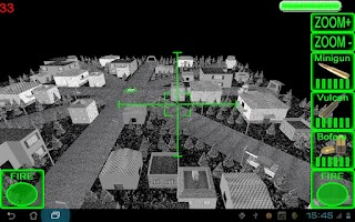 Screenshot of 3D AC130 City Defender Demo