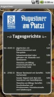Screenshot of Augustiner am Platzl