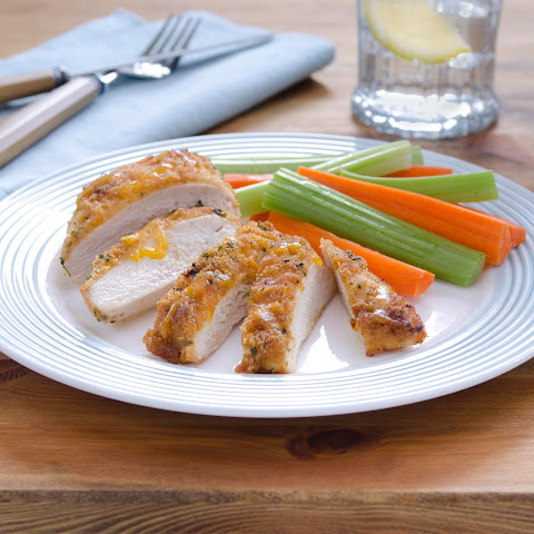 Bbq-cheddar-crusted Chicken
