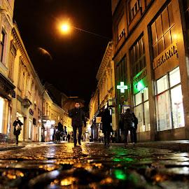 by Milenka Tatalovic - City,  Street & Park  Street Scenes