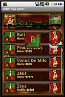 Screenshot of Christmas Dialer