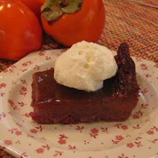Nonnie's Persimmon Pudding