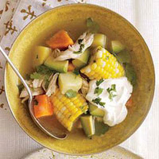 Cobble It Up! Chicken-and-Corn Soup