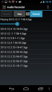 Free Audio Recorder APK for Windows 8