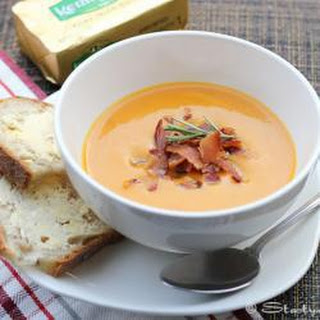 Spicy Butternut Squash Soup With Bacon